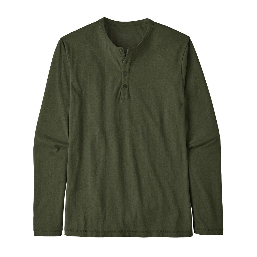 Patagonia Men's Long-Sleeved Daily Henley GRN_ADGR