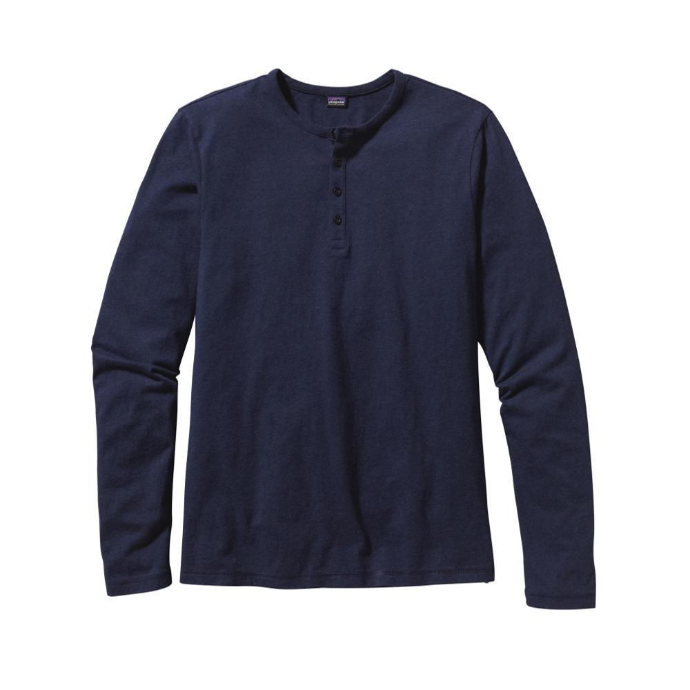 Patagonia Men's Long-Sleeved Daily Henley NVYB_BLUE