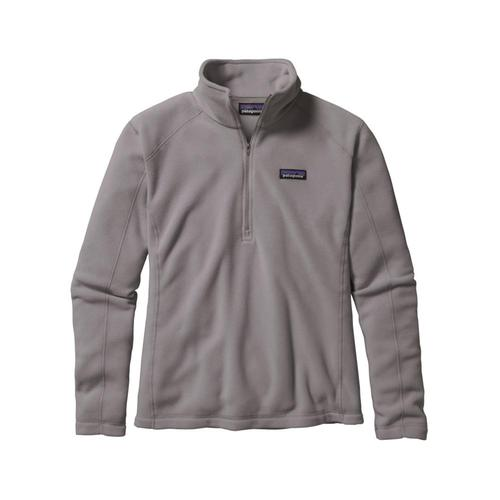 Patagonia Women's Micro D 1/4-Zip Fleece Fea_grey