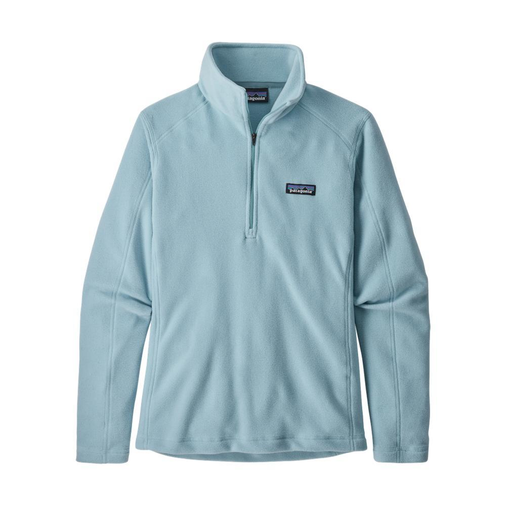 Patagonia Women's Micro D 1/4-Zip Fleece SKYBLUE_BSBL