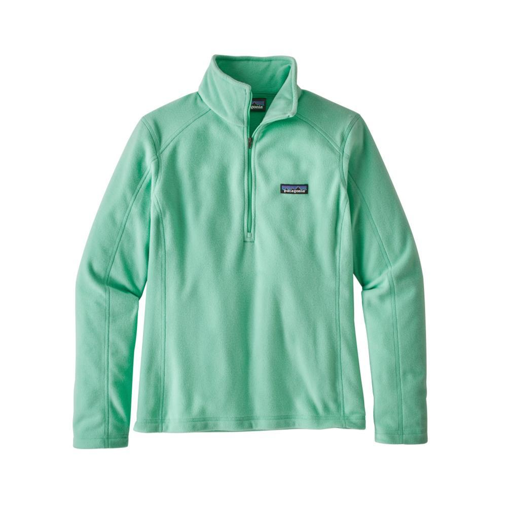 Patagonia Women's Micro D 1/4-Zip Fleece VJOG_GREEN