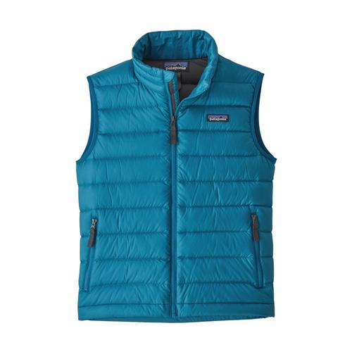 Patagonia Boys Down Sweater Vest Blue_bnfg