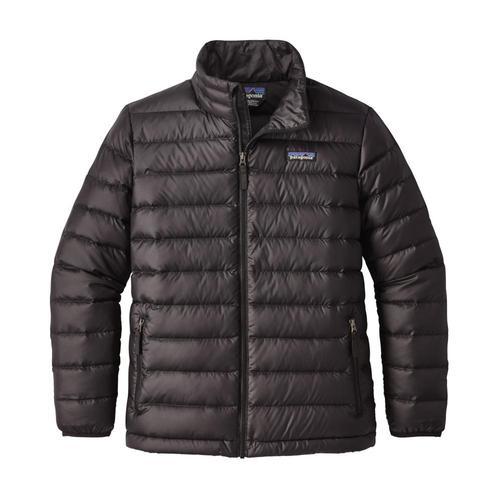Patagonia Boys Down Sweater Jacket Black_blk