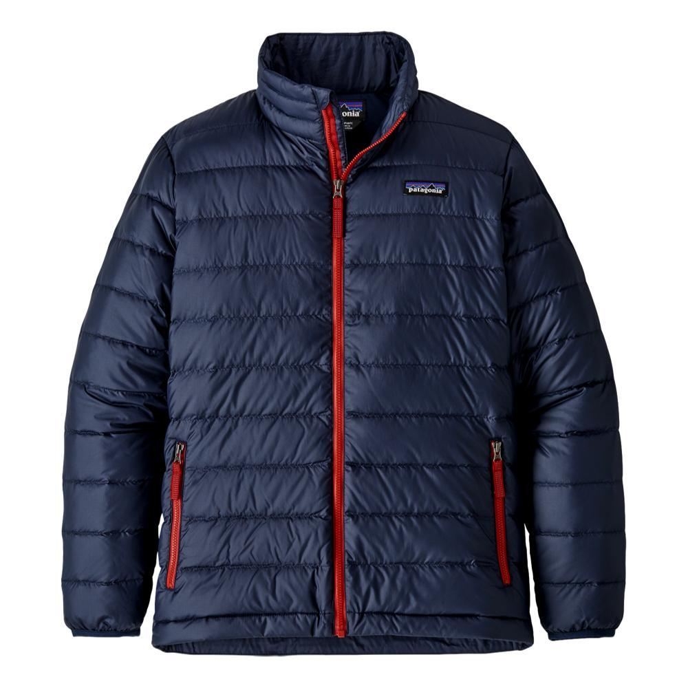 Patagonia Boys Down Sweater Jacket NAVY_NENA
