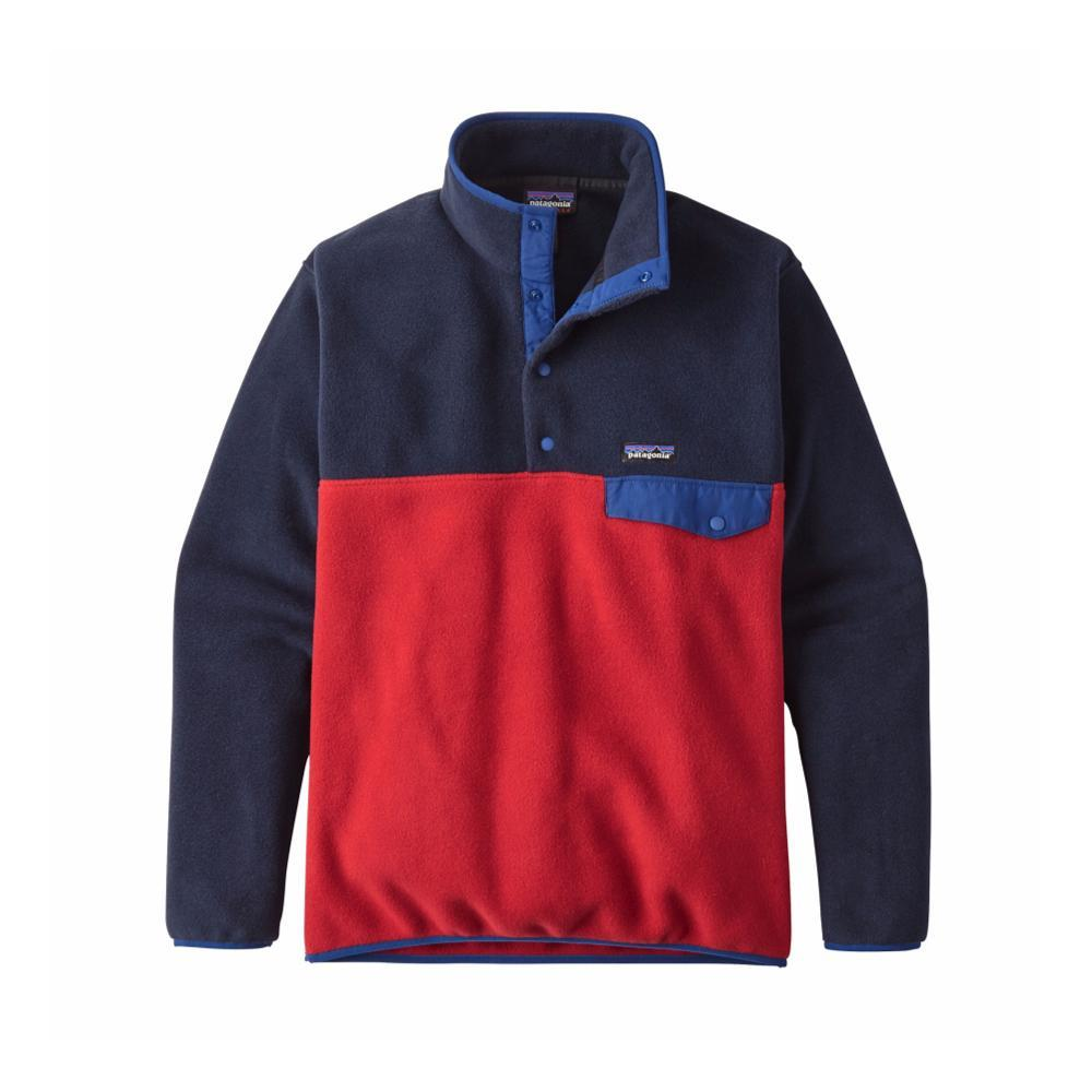 Patagonia Men's Lightweight Synchilla Snap-T Fleece Pullover CSRD_RED