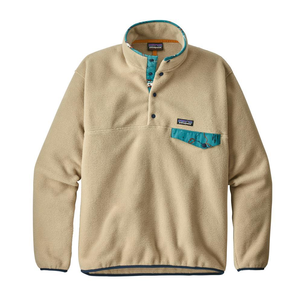 Patagonia Men's Lightweight Synchilla Snap-T Fleece Pullover ELKH_KHAKI