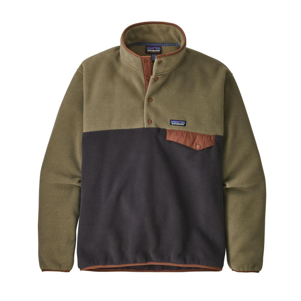 Patagonia Men's Lightweight Synchilla Snap-T Fleece Pullover KHAKI_SKA