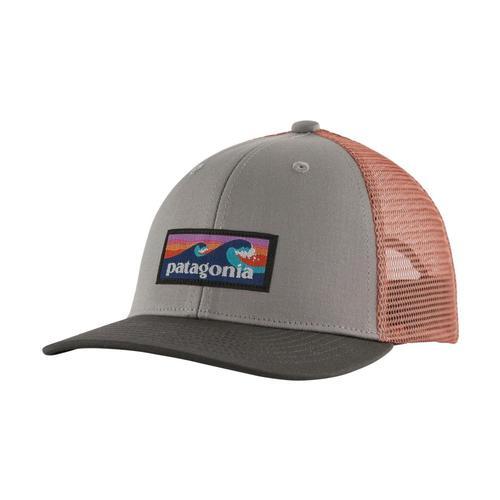 Patagonia Kids Trucker Hat Dfgry_bldg