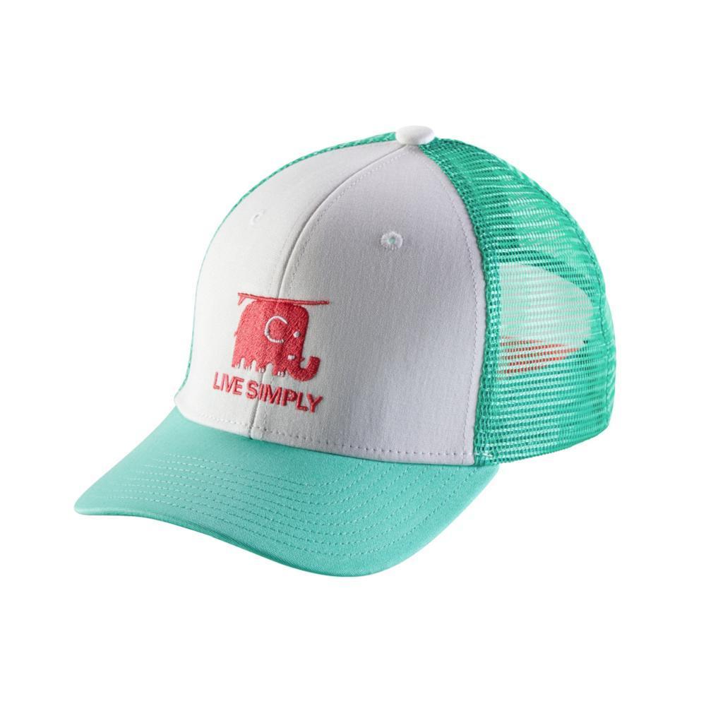 Patagonia Kids Trucker Hat WHT_LSEW