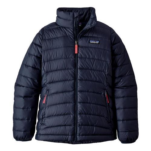 Patagonia Girls Down Sweater Jacket Navy_nena
