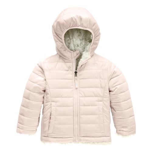The North Face Toddler Girls Reversible Mossbud Swirl Jacket Pnkwht_dgh