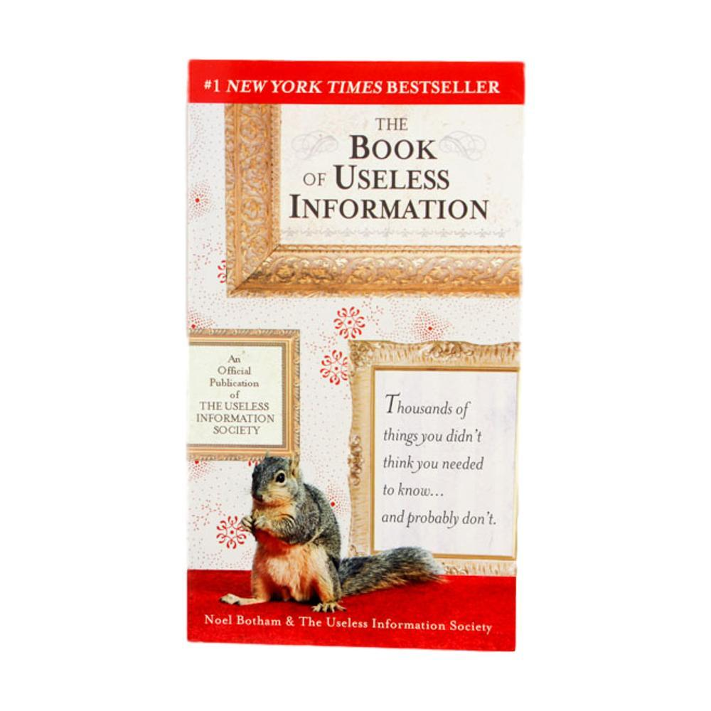 The Book Of Useless Information By Noel Botham