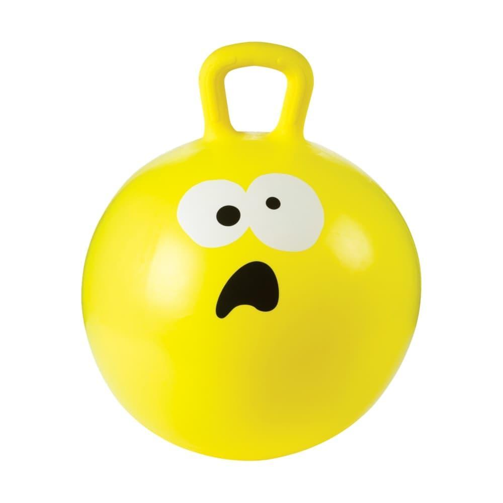 Toysmith Emoji Hoppy Ball 18in With Pump