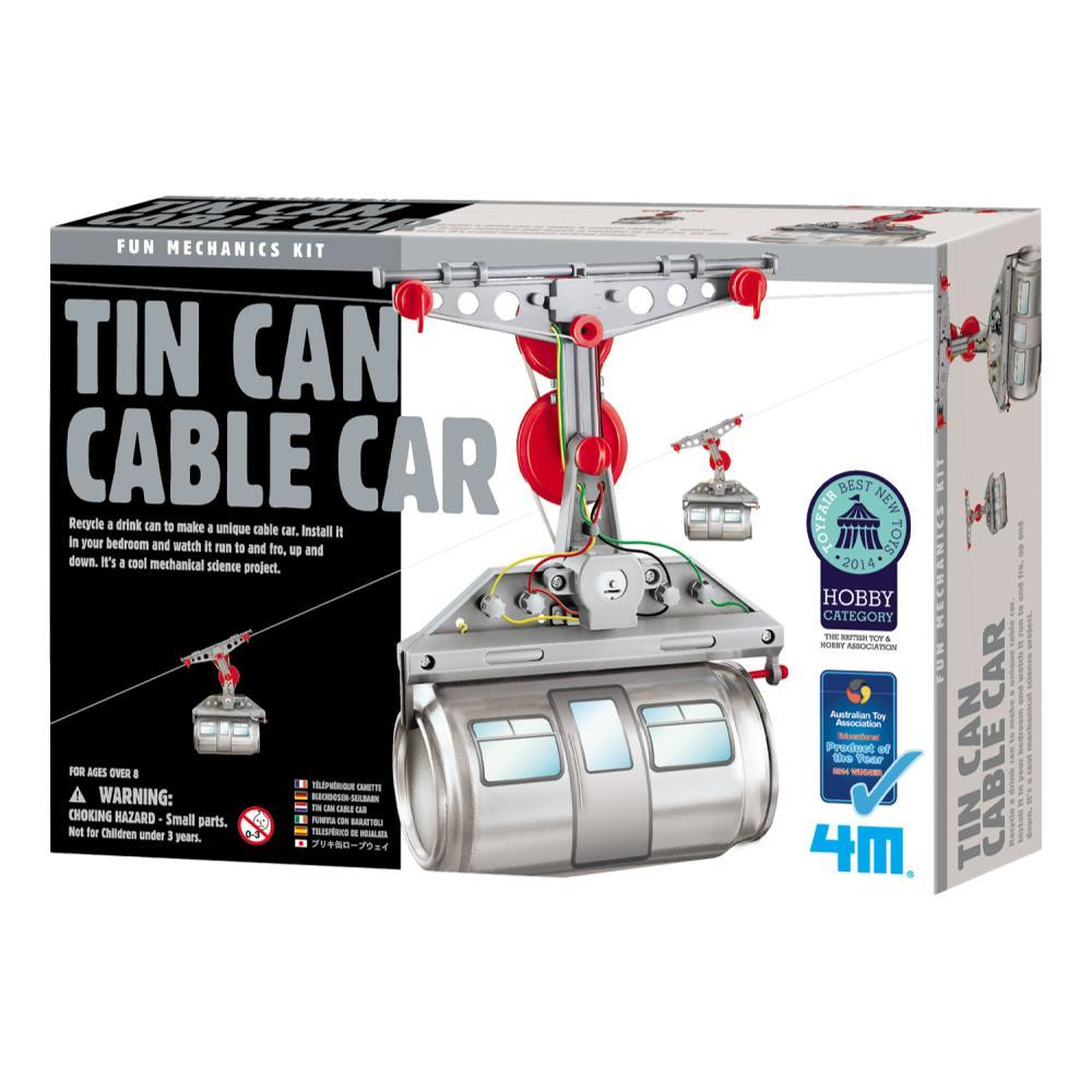 Toysmith 4m Tin Can Cable Car Making Kit