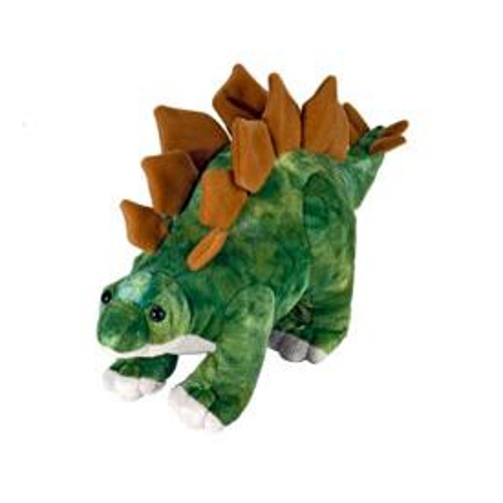 Wild Republic Dinosauria 15in Stegosaurus Stuffed Animal