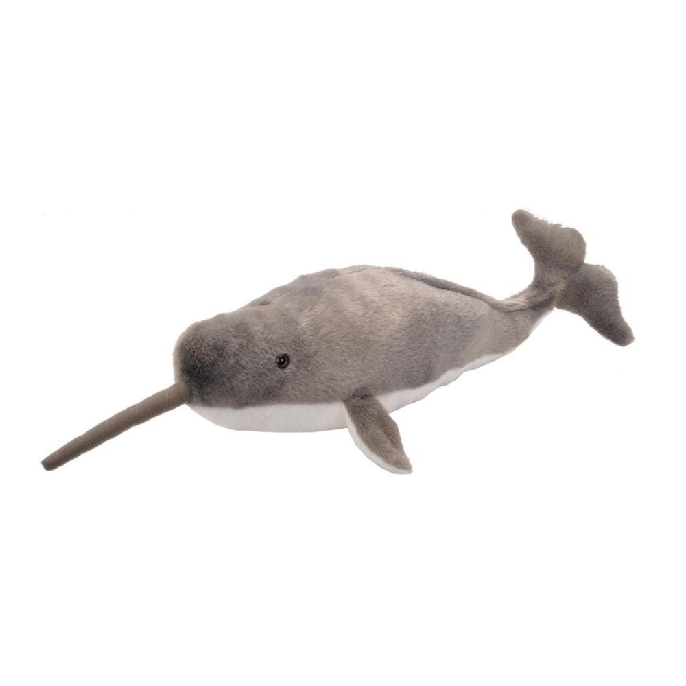Wild Republic Cuddlekins 12in Narwhal Stuffed Animal