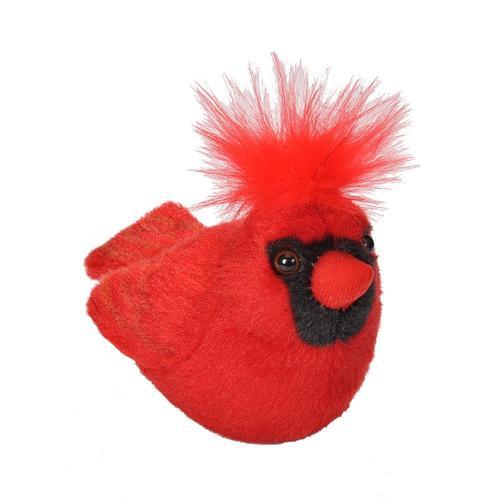 Wildlife Republic Audubon Birds Northern Cardinal Plush Bird With Sound