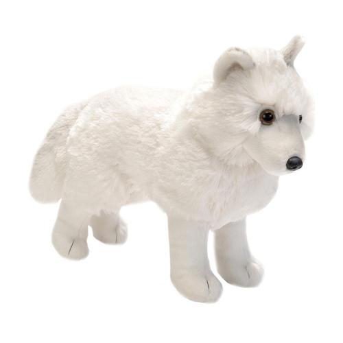 Wild Republic Cuddlekins 12in Standing Arctic Wolf Stuffed Animal