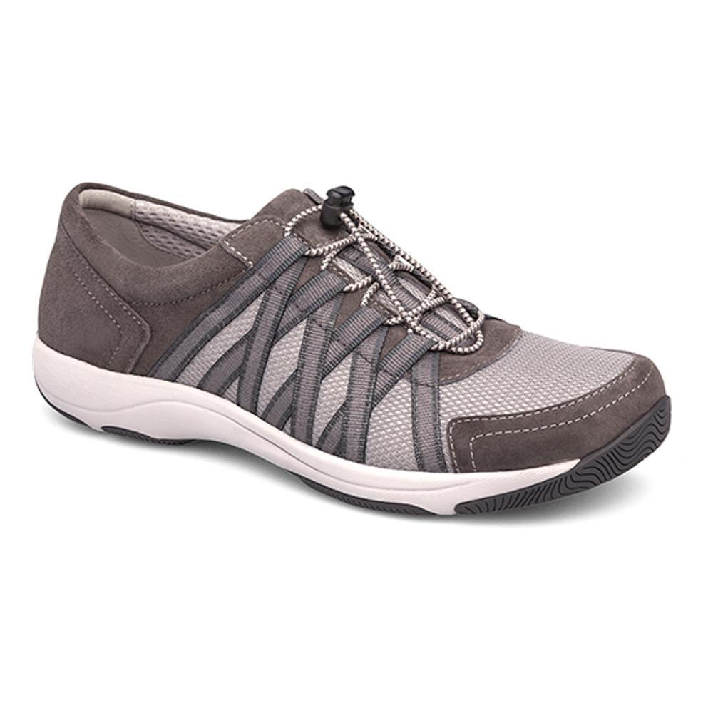 Dansko Women's Honor Charcoal Suede Sneakers CHARCOAL