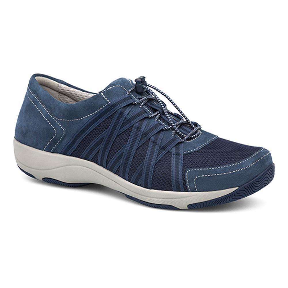 Dansko Women's Honor Blue Suede Sneakers BLUESD