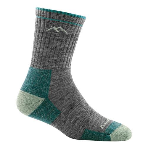 Darn Tough Women's Hiker Micro Crew Cushion Socks Slate