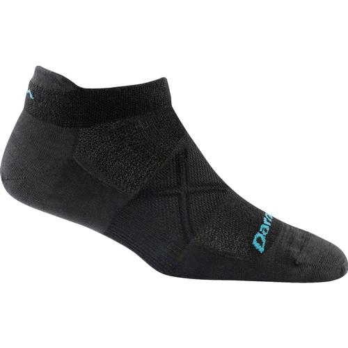 Darn Tough Women's Vertex Tab No Show Ultra-Light Cushion Socks Black