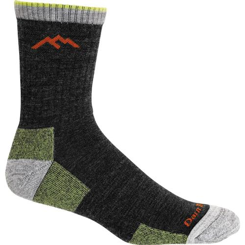 Darn Tough Men's Hiker Micro Crew Cushion Socks Lime