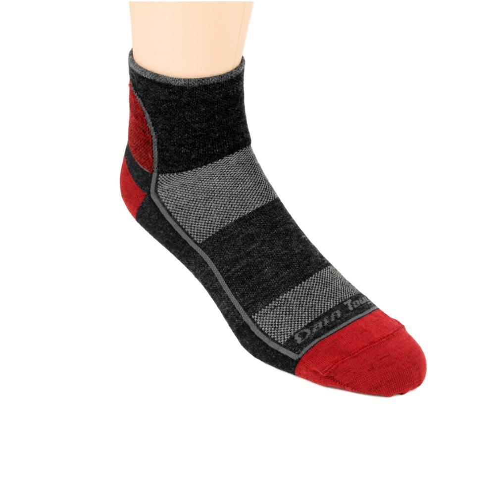 Darn Tough Men's 1/4 Sock Light Socks TEAMDTV