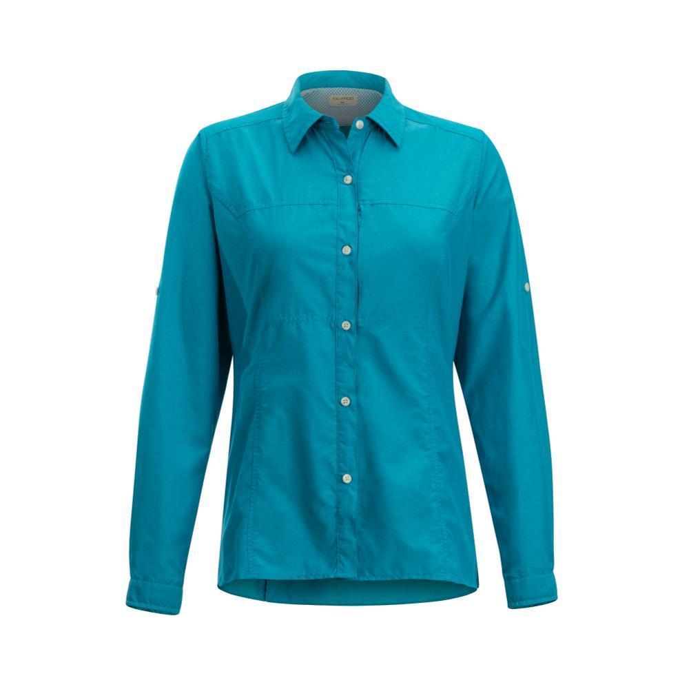ExOfficio Women's Lightscape Long Sleeve Shirt ALGIERSBLU