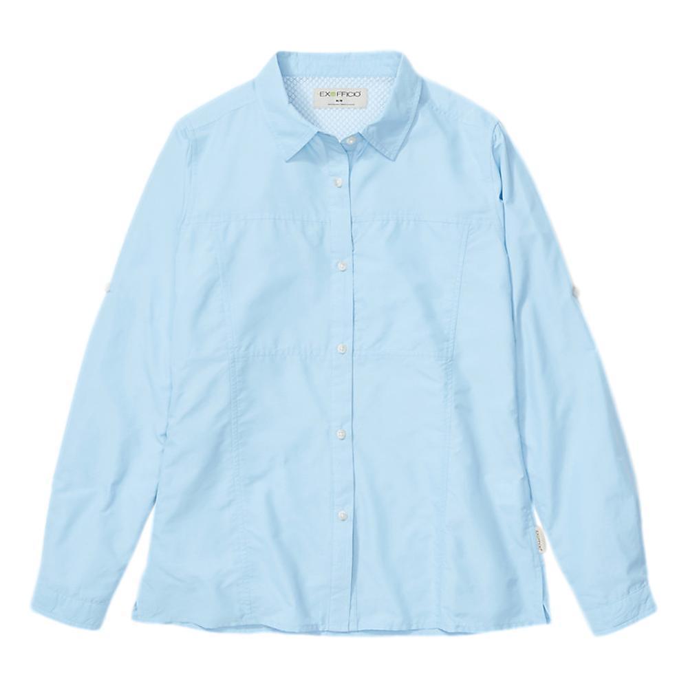 ExOfficio Women's Lightscape Long Sleeve Shirt BLUEBELL_5454