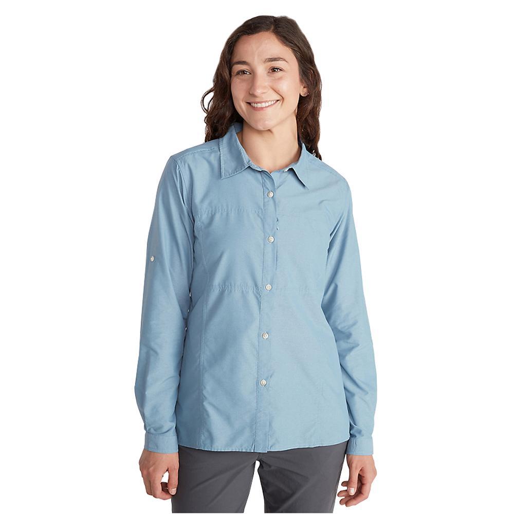 ExOfficio Women's Lightscape Long Sleeve Shirt BLUESTAR_5696