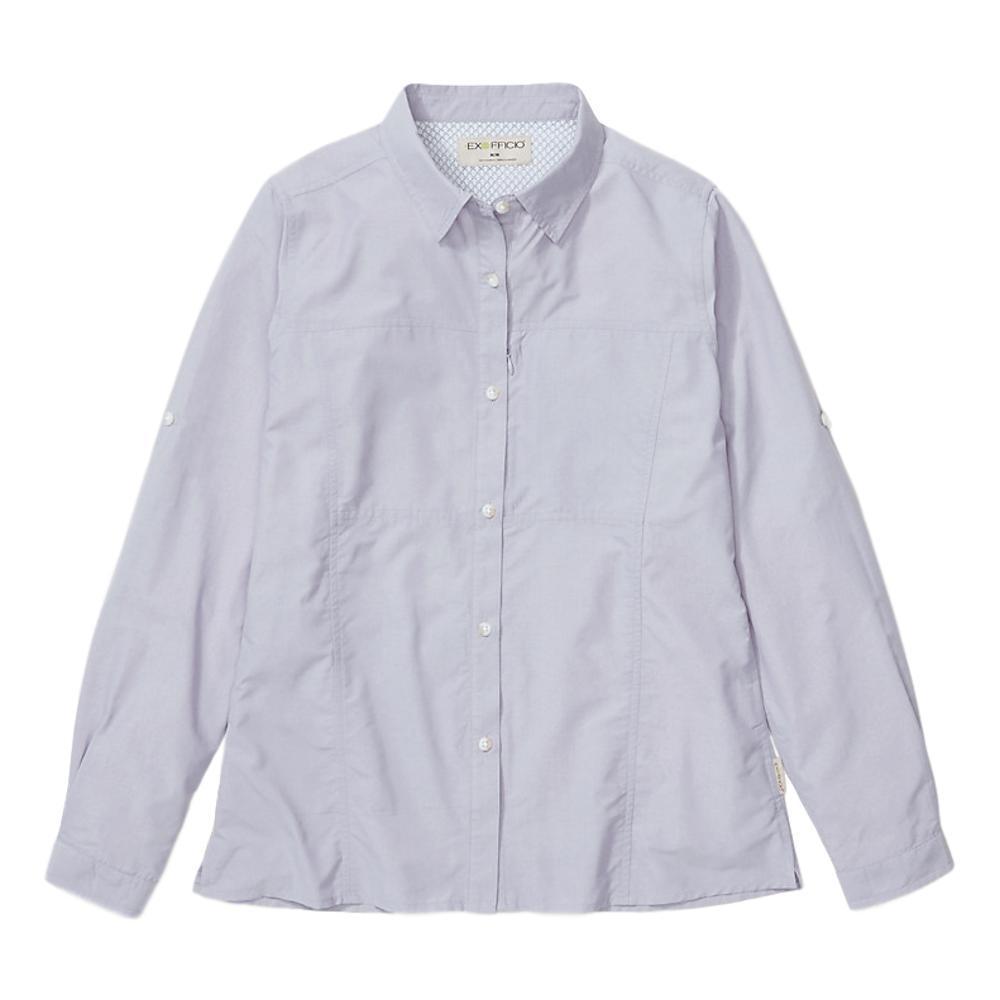 ExOfficio Women's Lightscape Long Sleeve Shirt LAVENDER_4445