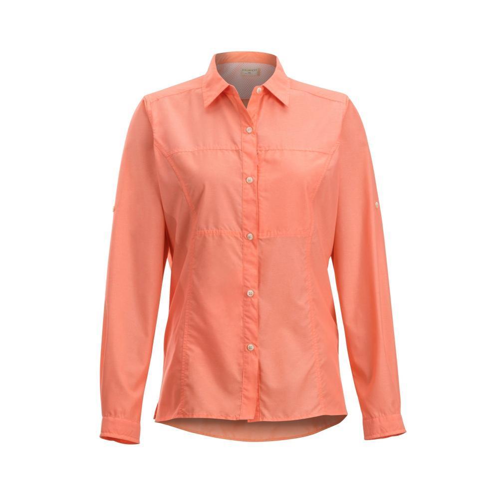 ExOfficio Women's Lightscape Long Sleeve Shirt SPRITZER
