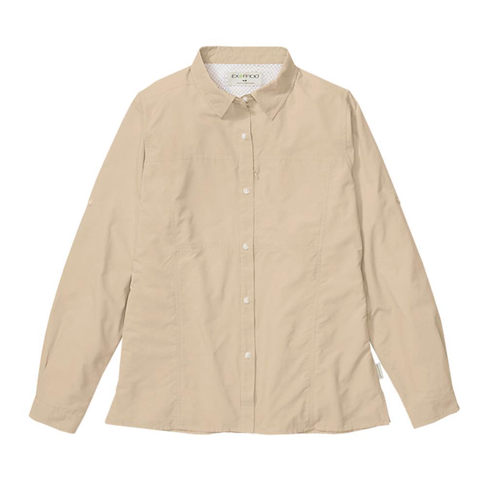 ExOfficio Women's Lightscape Long Sleeve Shirt TAWNY_8421