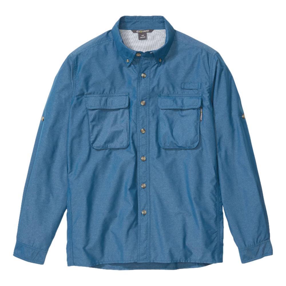 ExOfficio Men's Air Strip Long Sleeve Shirt GALAXY_5802