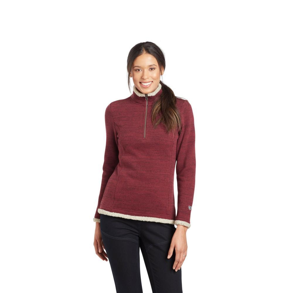 Kuhl Women's Alska 1/4 Zip WINE