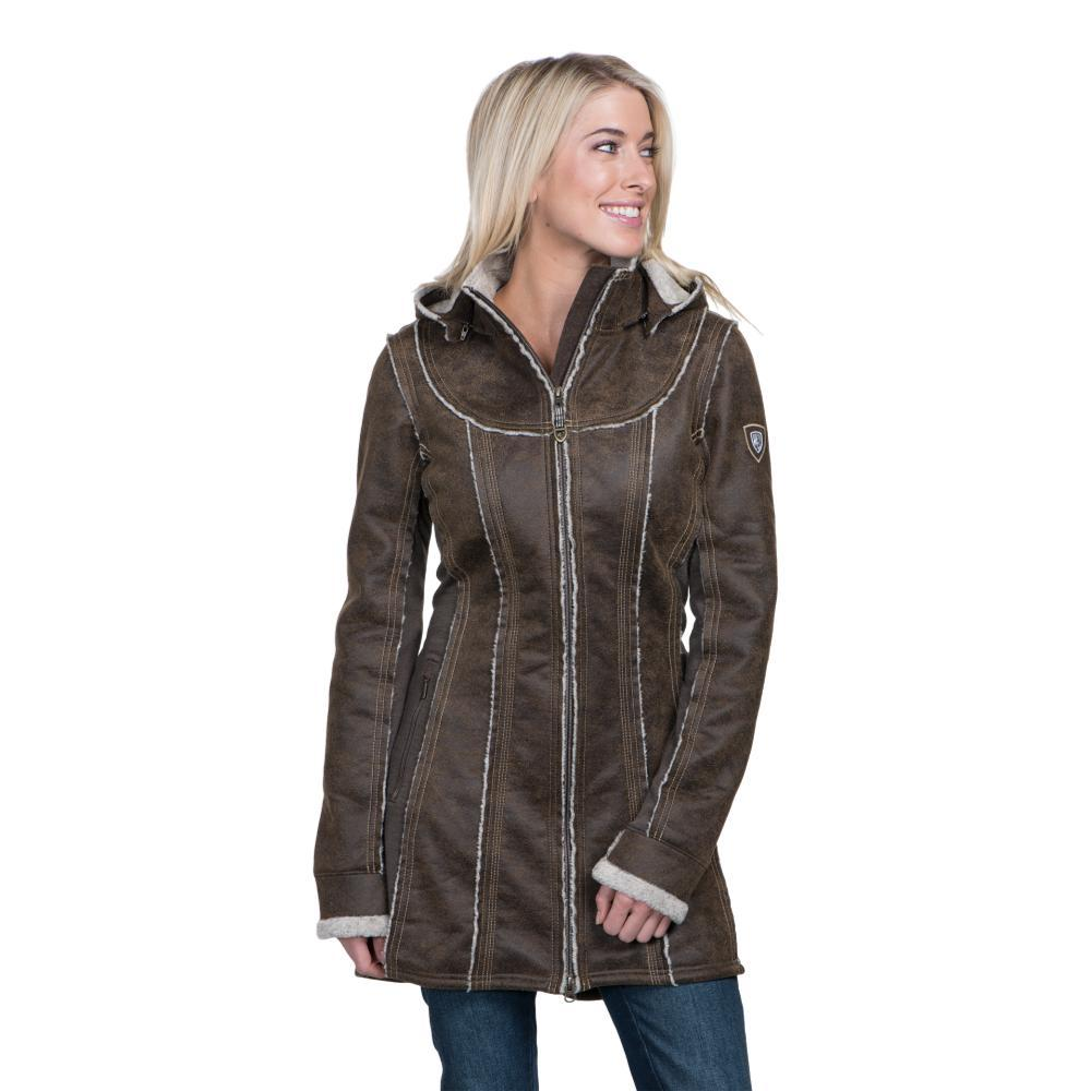 KUHL Women's Dani Sherpa Trench OAK