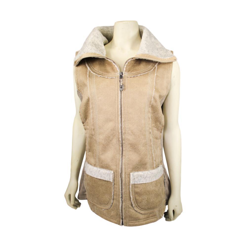 KUHL Women's Dani Sherpa Vest ALMOND