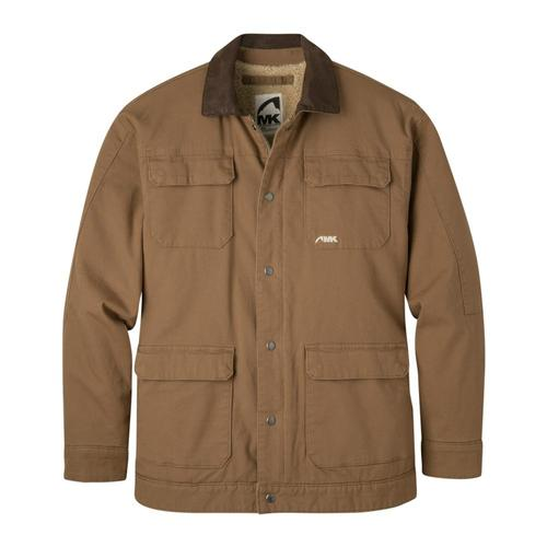 Mountain Khakis Men's Ranch Shearling Jacket Tobacco