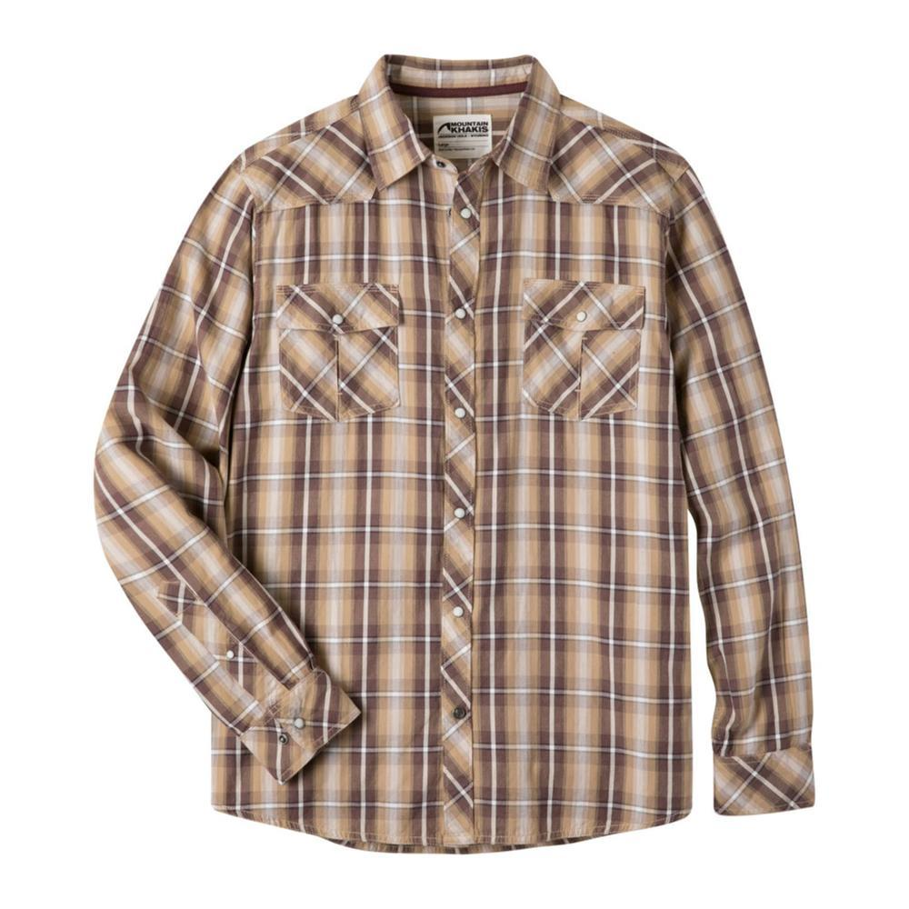 Mountain Khakis Men's Rodeo Long Sleeve Shirt RETROKHAKI