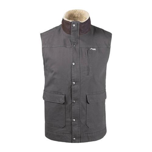 Mountain Khakis Men's Ranch Shearling Vest Slate