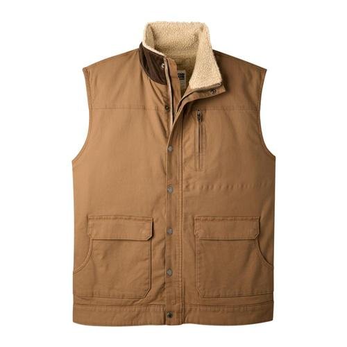 Mountain Khakis Men's Ranch Shearling Vest Tobacco