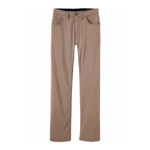 prAna Men's Brion Pants - 34in Inseam Mud