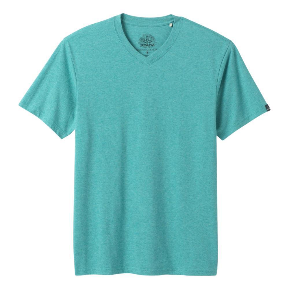 prAna Men's prAna V-Neck T-Shirt AZURITEHTHR