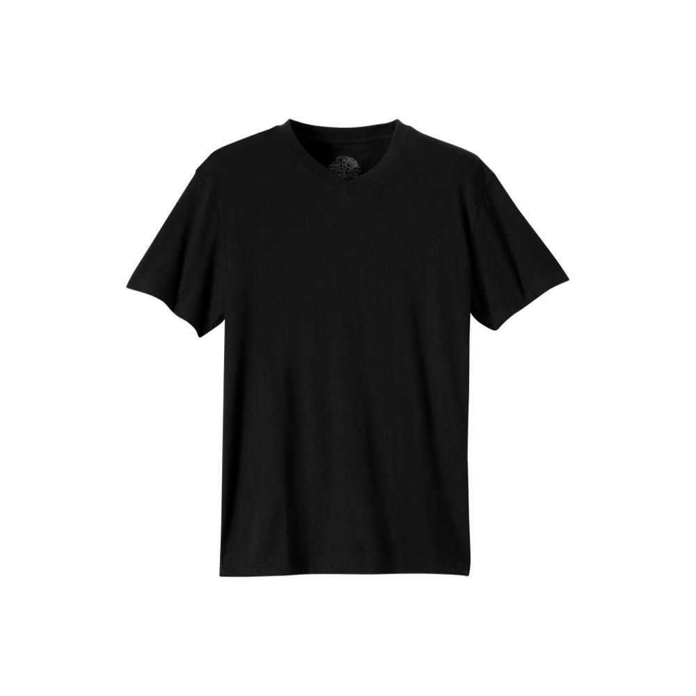 prAna Men's PrAna V-Neck T-Shirt BLACK