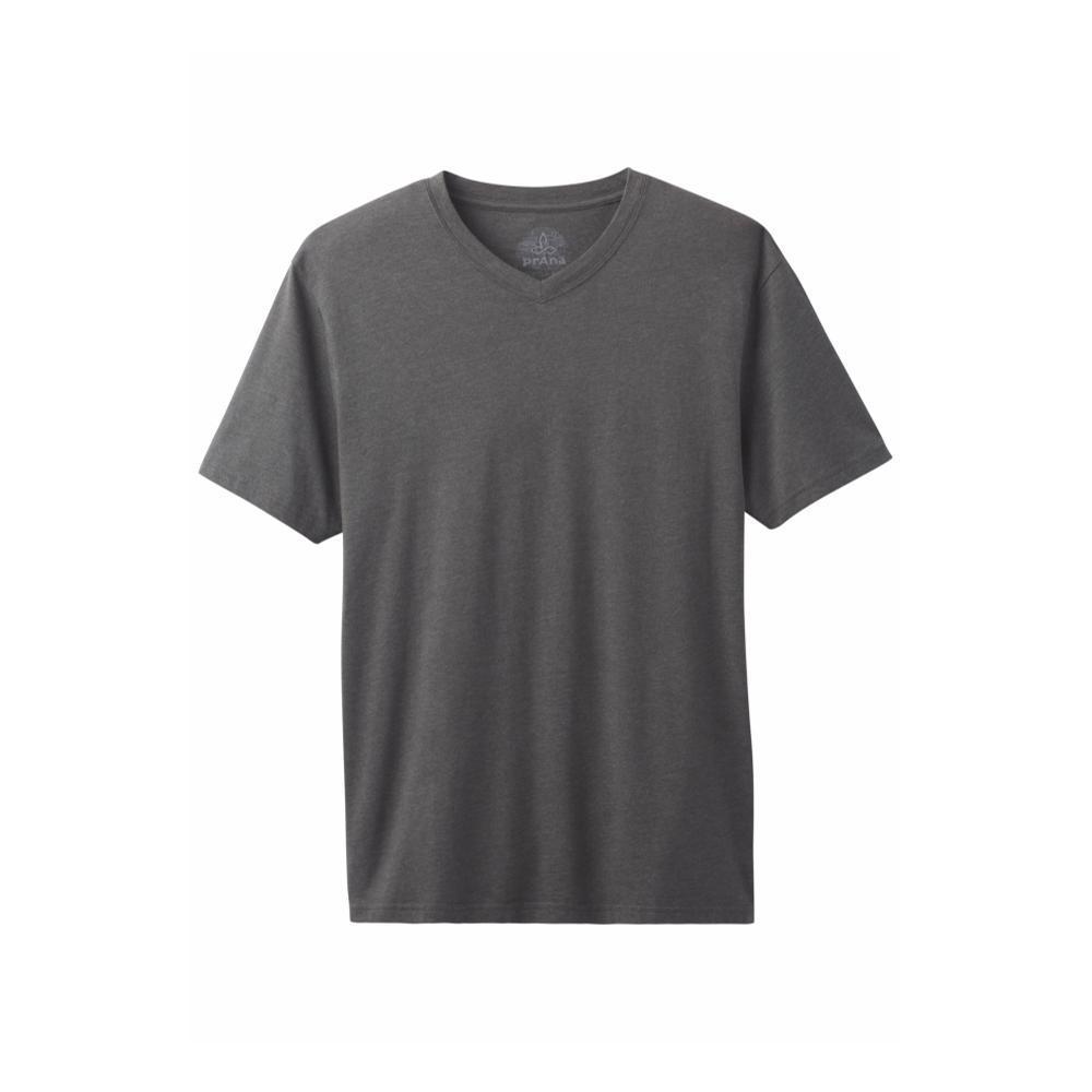 prAna Men's PrAna V-Neck T-Shirt CHARCOAL
