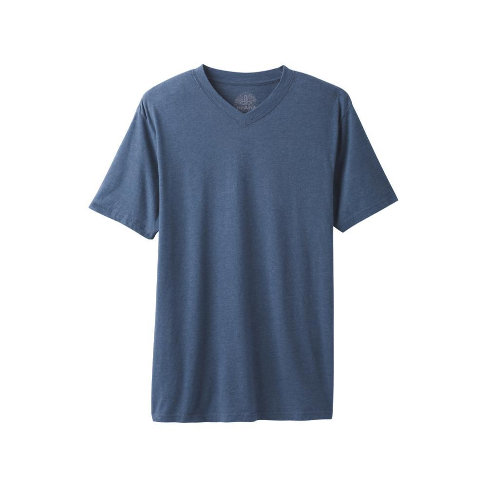 prAna Men's V-Neck T-Shirt DENIMHTHR