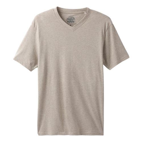 prAna Men's V-Neck T-Shirt Dkkhakihthr
