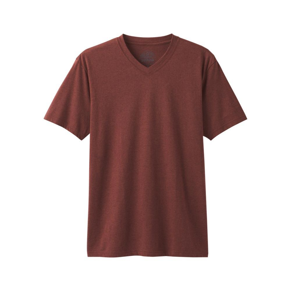 prAna Men's PrAna V-Neck T-Shirt MAPLEHTHR