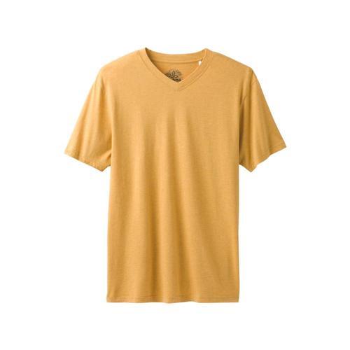 prAna Men's PrAna V-Neck T-Shirt Marigold